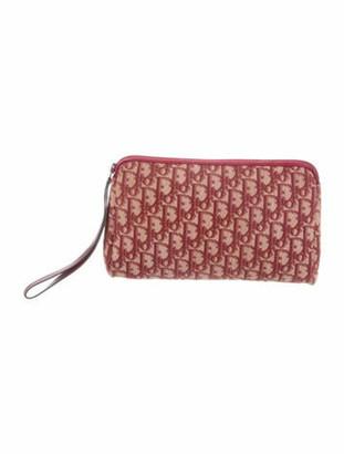 Christian Dior Vintage Diorissimo Clutch Bag Red