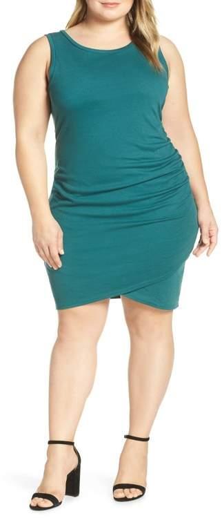 Ruched Sheath Dress (Plus Size)