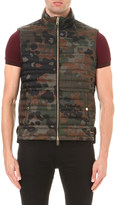 Burberry Camouflage down gilet