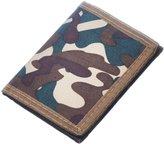 Birch Camouflage Trifold Military Style Nylon Commando Army Tri-Fold Wallet