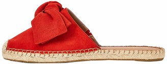 Find. Amazon Brand Women's Bow Mule Closed Toe Leather Espadrille Shoes Red US 10