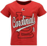 Majestic St. Louis Cardinals The Game Cotton T-Shirt, Toddler Boys