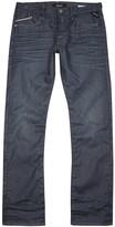 Replay Waitom Dark Blue Coated Slim-leg Jeans