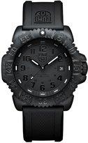 Luminox Men's 44mm Silicone Band Polycarbonate Case Quartz Watch 3051.bo