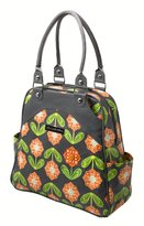 Petunia Pickle Bottom Glazed Sashay Sagl-00-277 Satchel,Santiago Sunset,One