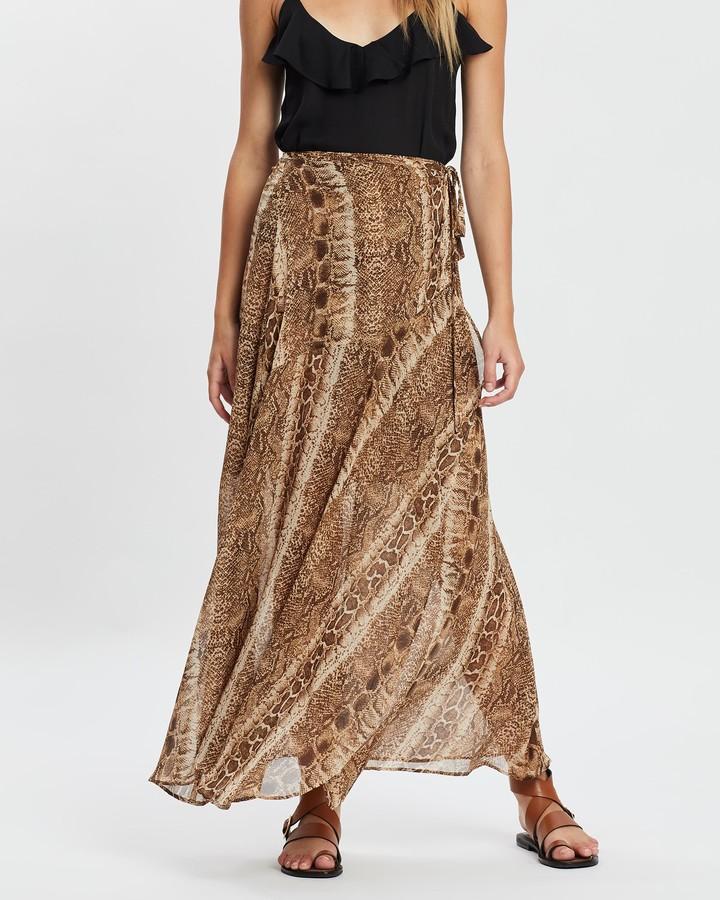Atmos & Here Jill Maxi Skirt