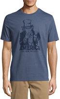ST. JOHN'S BAY St. John's Bay Americana Short Sleeve Crew Neck T-Shirt
