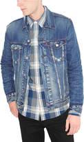 Levi's Big & Tall Denim Gridlock Trucker Jacket