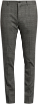 Dolce & Gabbana Prince of Wales-checked wool-blend trousers