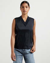 Ted Baker LYDIAAY V neck sleeveless jumper