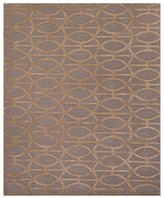 Jaipur City Area Rug - Tannin/Frosted Almond Spheres, 2' x 3'