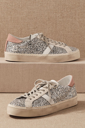 D.A.T.E Bethany Sneakers By in Silver Size 5