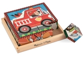 Melissa & Doug Kids Toy, Vehicles Cube Puzzle