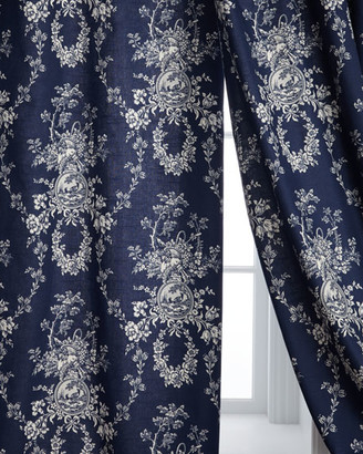 Sherry Kline Home Two 96L Country Toile Curtains