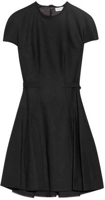 DELPOZO Black Wool Dresses