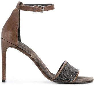 Brunello Cucinelli Ankle Strap Sandals