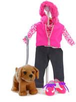 Madame Alexander 7Pc Walking My Puppy Set