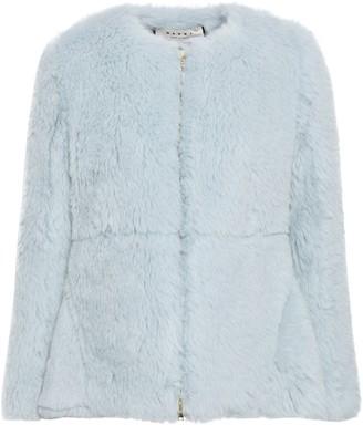 Marni Alpaca, Cotton And Mohair-blend Jacket