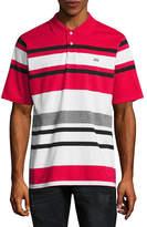 Ecko Unlimited Unltd Short Sleeve Stripe Jersey Polo Shirt