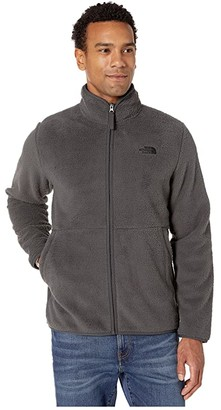 The North Face Dunraven Sherpa Full Zip (Asphalt Grey) Men's Clothing