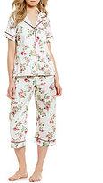 BedHead Dahlia Floral Sateen Pajamas