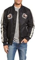 Schott NYC Men's Nylon Souvenir Flight Jacket