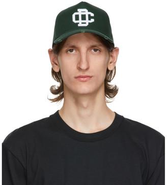 DSQUARED2 Green Logo Baseball Cap