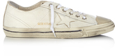 Golden Goose Deluxe Brand V-star low-top leather trainers