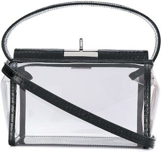 Gu_de Transparent Box Bag