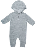 Bonpoint Wool Hooded Coverall, Size 3-12 Months