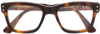 Epos Erato rectangular-frame glasses