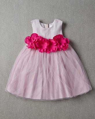 Nellystella Blossom Silk-Blend Dress