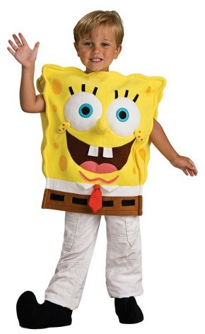 Rubie's Costume Co Rubie's Toddler/Boy's Spongebob Square Pants Costume