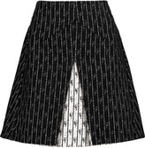 Roland Mouret Aven pleated bouclé skirt