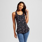 Women's Knit Pajama Tank Black - Xhilaration