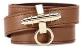 Givenchy 3 Row Obsedia Leather Bracelet
