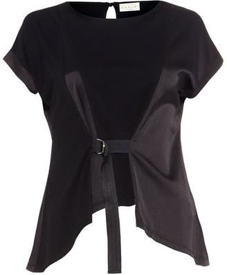 Damsel in a Dress Franca Woven Jersey Top
