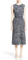 Max Mara Women's Jasmine Print Midi Dress