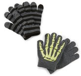 Class Club Boys Skeleton Gripper Gloves