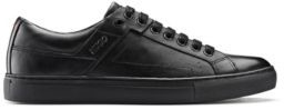 HUGO BOSS Tennis-inspired trainers in nappa leather with rubber sole