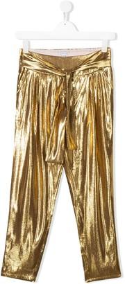 Little Marc Jacobs TEEN metallic trousers