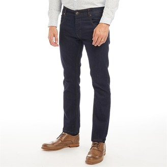 Onfire Mens Straight Fit Jeans Rinse Wash