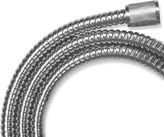 Bed Bath & Beyond Hotel Spa 5 in 7 Foot Stretchable Stainless Steel Shower Hose