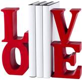 Torre & Tagus Love Word Art Bookends (Set of 2)