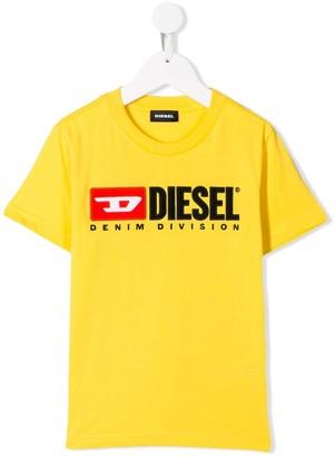 Diesel embroidered logo T-shirt
