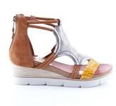 Mjus Tapasita Leather Wedge Sandals