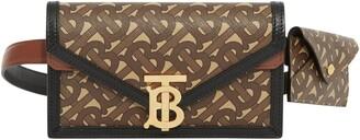 Burberry TB Monogram Wallet & Card Case Canvas Belt Bag