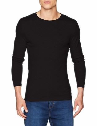 G Star Men's Base Round Neck Tee Long Sleeve 1-Pack