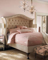 Haute House Champagne Peekaboo King Bed