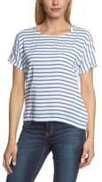 More & More Women's Short Sleeve Blouse - -
